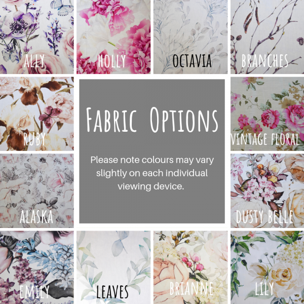 Fabric Options for Limited Release Cushions